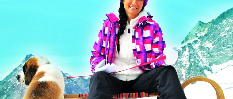 Antonia aus Tirol präsentiert Wintermoden bei C&A