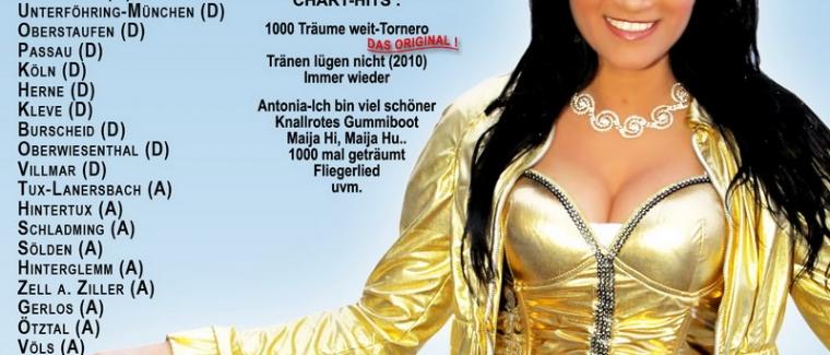 Die Antonia aus Tirol-Top of the Mountains Winter Tour 2010/2011