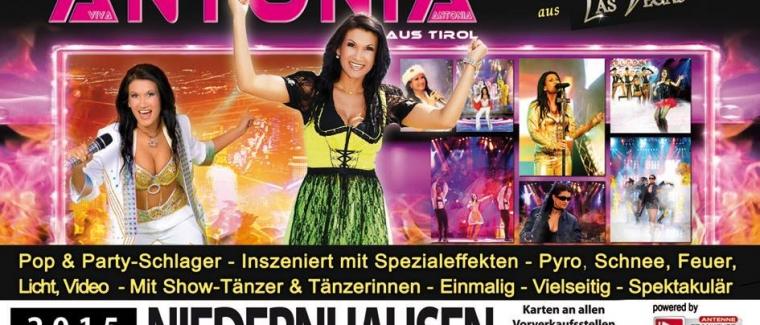Erneute Verschiebung der Viva Antonia Show in Niedernhausen!